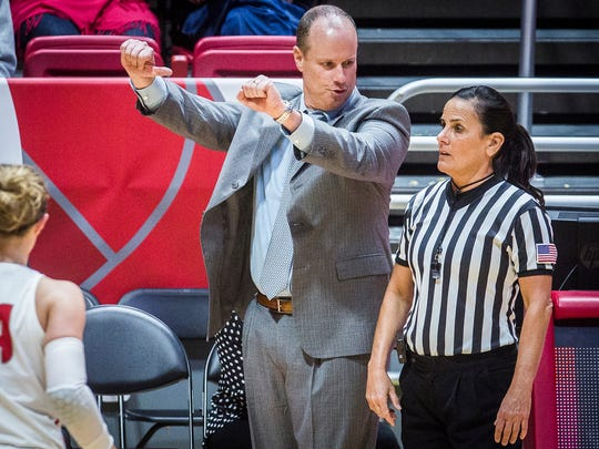 Ball State coach Brady Sallee has the Cardinals off to a 10-0 start.