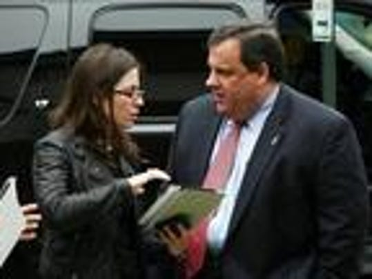 Communications strategist Maria Comella has a $140,000 salary as Chris Christie's deputy chief of staff.  (file photo)