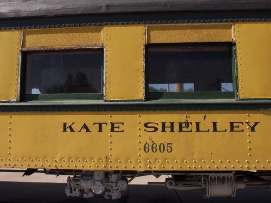 From 2001: One of the oldest cars in the Boone & Scenic Valley Railroad's collection bears the name of heroine Kate Shelley.
