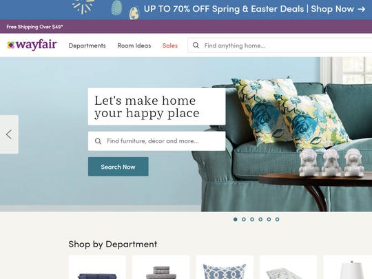 Wayfair is a leading online seller of furniture and other household furnishings.