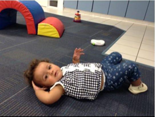 Sofia Aveiro at day care.