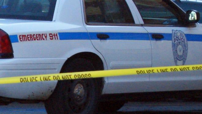 File photo of a Jackson crime scene