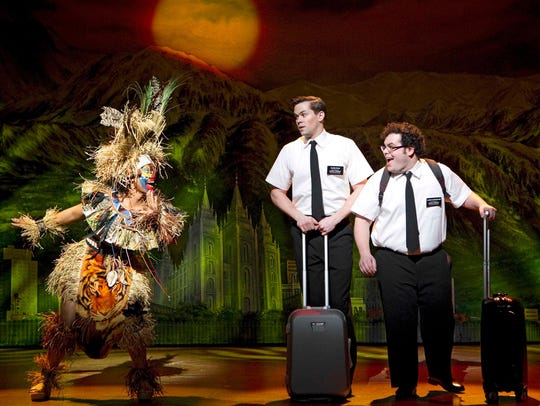 """""""The Book of Mormon"""" was recently at the Kravis Center for the Performing Arts in West Palm Beach."""