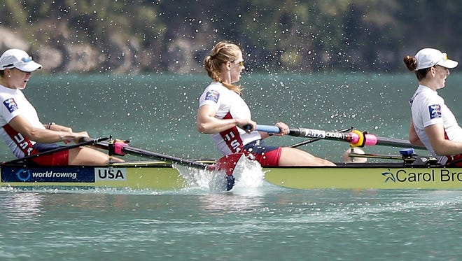 Grace Latz, who grew up in Jackson, persevered to get on the U.S. women's rowing team.