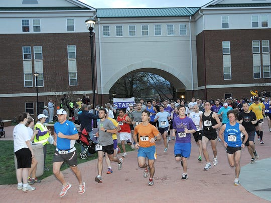 The sixth annual Valley of the Lilies Half Marathon at Western Carolina University will be April 2 on the Cullowhee campus.