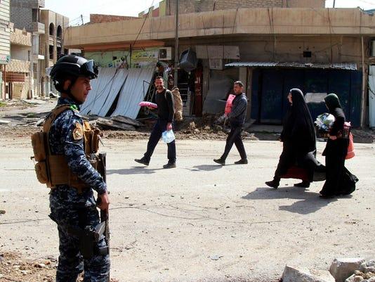 EPA IRAQ MOSUL BATTLE CONFLICT IS WAR CONFLICTS (GENERAL) IRQ IR