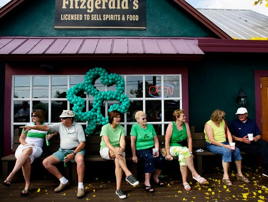 In this 2008 file photo, the front porch at Fitzgerald's