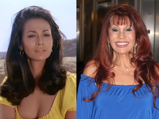 635929551778105703-1.-Luna-in-High-Chaparral-in-1967-and-at-CINECON-in-2014---photos-provided-by-BarBara-Luna.jpg