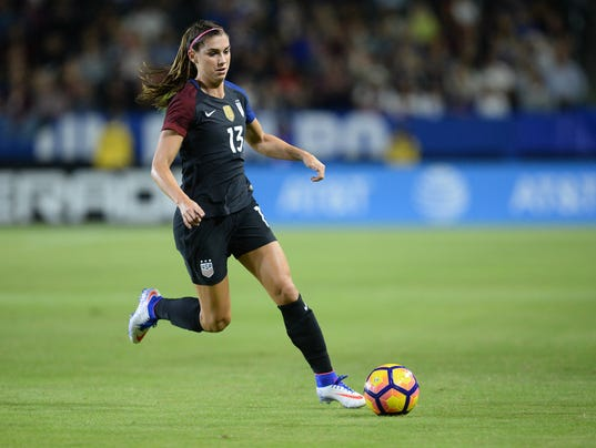 alex morgan explains why she wants to play soccer in france. Black Bedroom Furniture Sets. Home Design Ideas