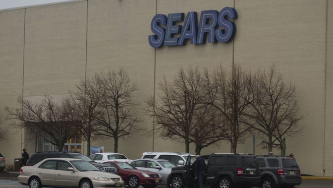 A Sears store in Ocean Township is seen in this file photo.