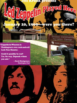 'Led Zeppelin Played Here' explores a legend that the band once performed at a suburban gymnasium.