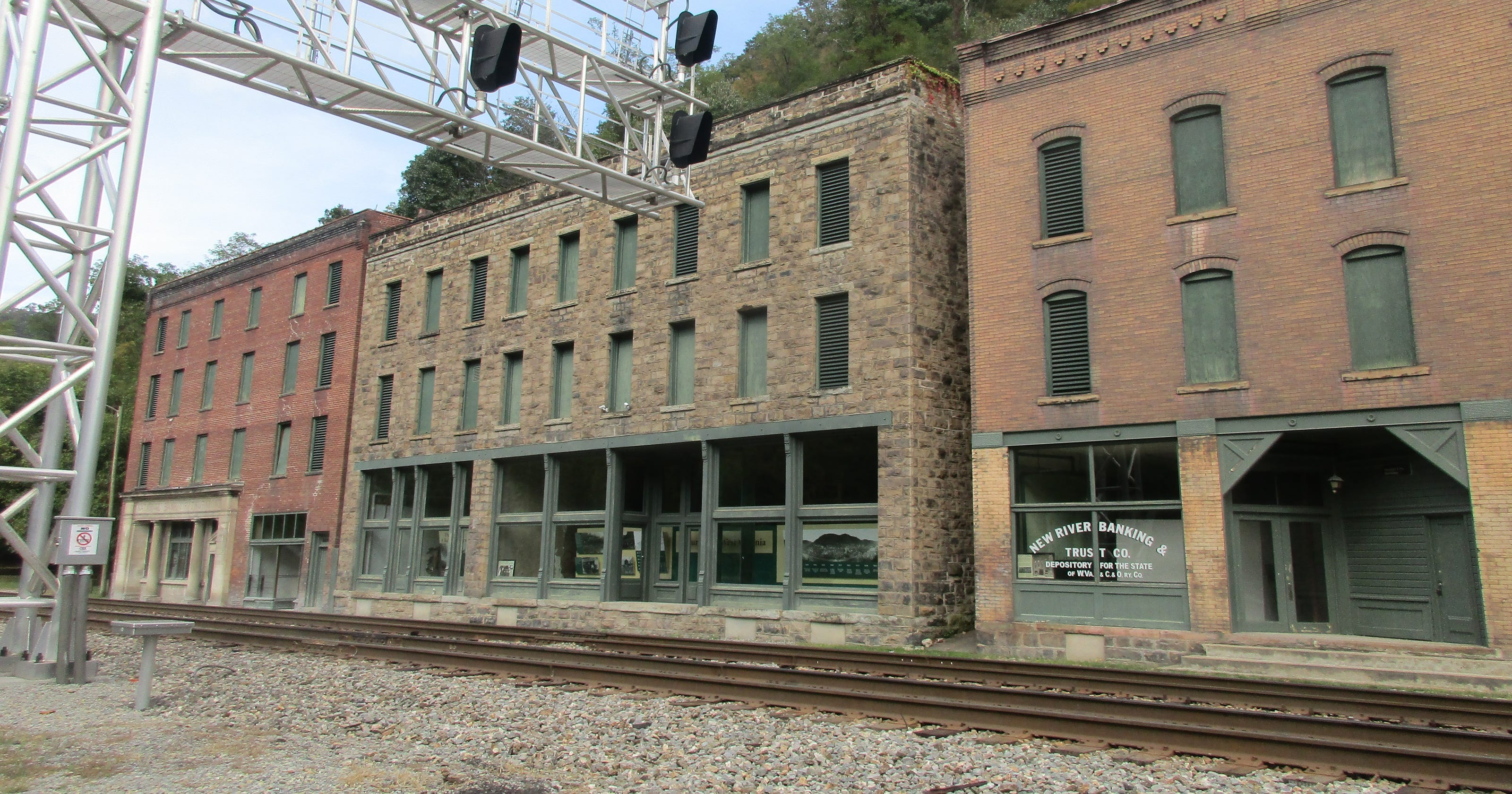 Coal Country Ghost Town Preserved For Tourists Wiring Loom Home Depot