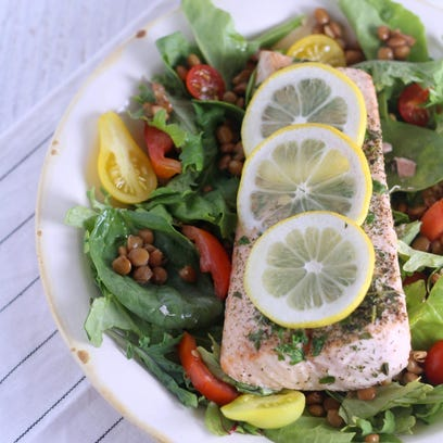 Salmon is one of the fastest cooking lean proteins you can put on your plate.