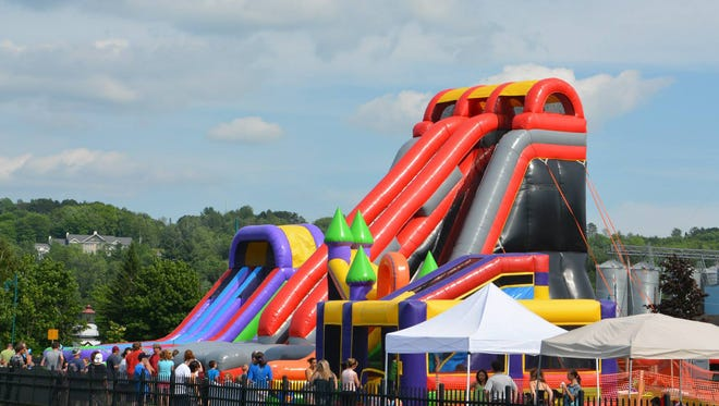 Fun for the children with Newport Parks and Recreation.