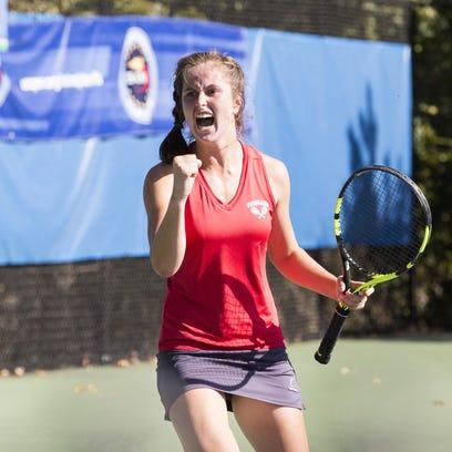 Vineland senior Tess Fisher captures state singles tennis championship