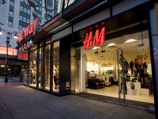 Global fashion retailer H&M is the first announced