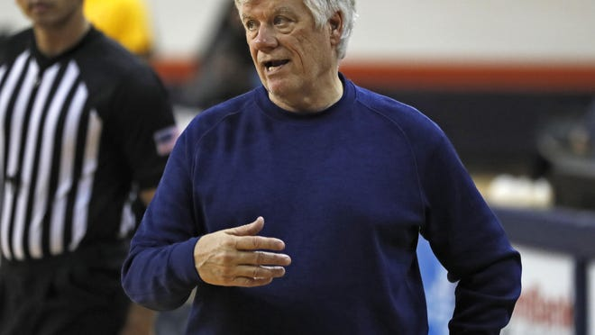South Plains College coach Steve Green goes for his NJCAA-record fourth national championship this week in Hutchinson, Kansas. The Texans open with South Georgia State on Wednesday in the round of 16.