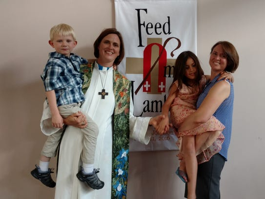 Aiden, from left, Diana, Elizabeth and Michaele Dawn
