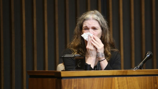 Donna Scrivo was found guilty of killing and dismembering her son today.