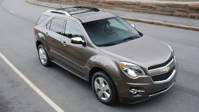 Sales for the 2015 Chevrolet Equinox small crossover continue to grow even as it is due for a redesign.