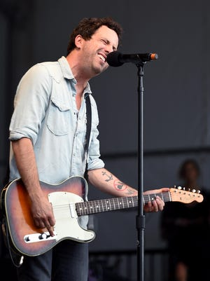 Will Hoge performing at the Pilgrimage Music and Cultural Festival in Franklin.