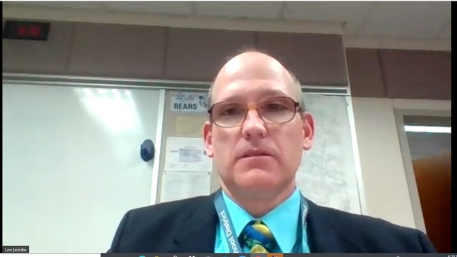 Pleasant Valley School District Superintendent Lee Lesisko was among the administrators answering parents' questions at a virtual town hall meeting on Monday evening.
