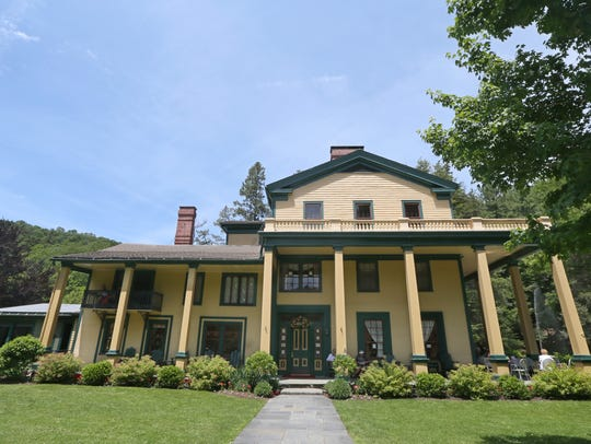 The historic Glen Iris Inn at Letchworth State Park.