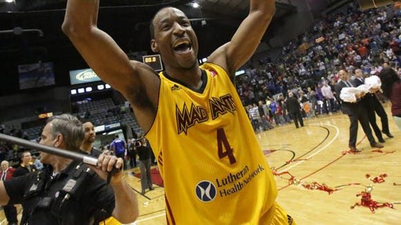 former Auburn star Chris Porter won a D-League title with the Fort Wayne Mad Ants this past season.