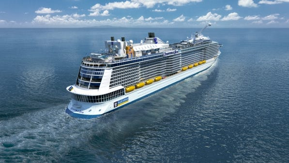 Royal Caribbean to send newest, hottest ship to China: In a sign of the growing importance of Asia to the cruise industry, Royal Caribbean will base its newest, hottest ship in China next year instead of Europe or the Caribbean. Royal Caribbean says the 4,180-passenger Quantum of the Seas, its first new vessel in four years, will permanently reposition to Shanghai in May 2015.