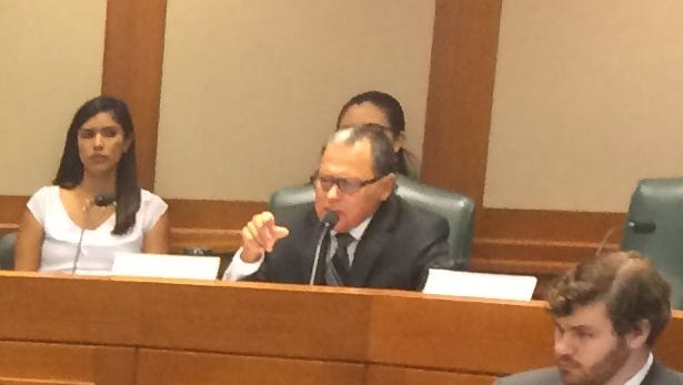 State Sen. Jose Rodriguez is pushing legislation to make the Texas Railroad Commission's records easier to access.