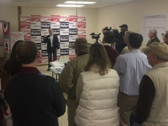 Republican attorney general candidate Brad Schimel