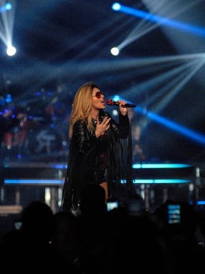 Shania Twain performs at the YUM! Center.  August 03, 2015