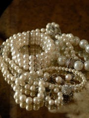 Style Maker Stacie Garrett loves the classic style of her pearls.    March. 01, 2016