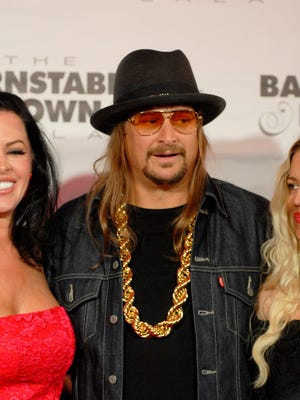Singer, rapper, songwriter, musician, producer and actor, Kid Rock, poses on the red carpet at The Barnstable-Brown Gala Derby Eve. May 05, 2017