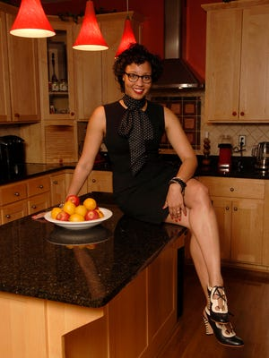 Stylemaker Jacqui McMillian-Bohler poses in the kitchen of her East End home.  Jan. 27, 2017
