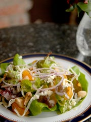 Kentucky Bibb lettuce salad with Champagne vinaigrette