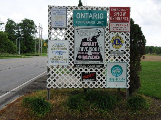 MNJ Ontario sign stock
