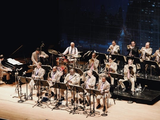 The renowned Jazz at Lincoln Center Orchestra.