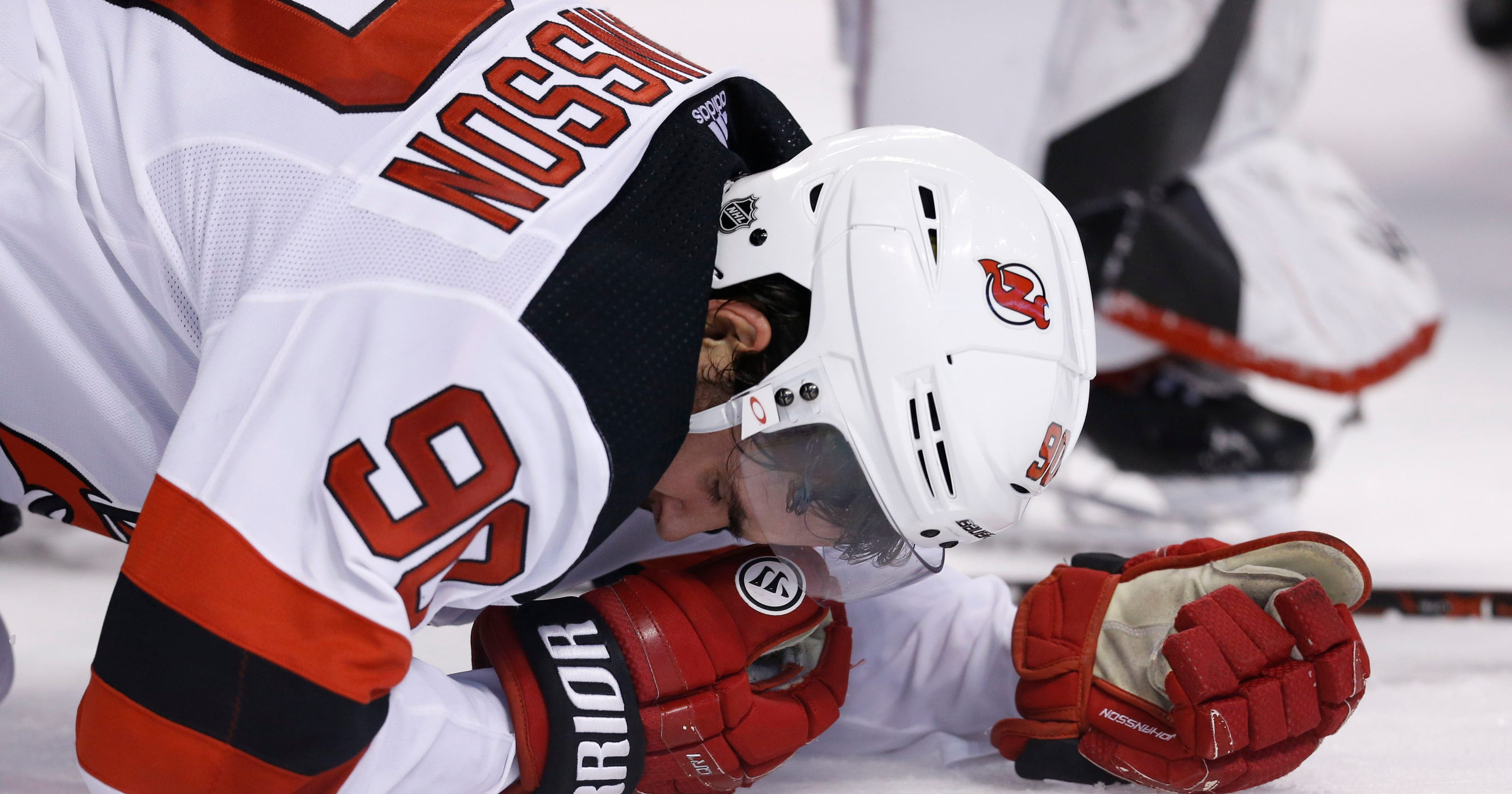 fec242172 Devils  Marcus Johansson rips Brad Marchand hit   It s got nothing to do  with hockey
