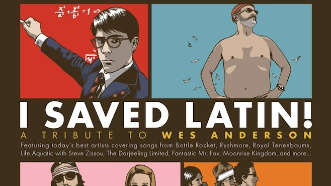 'I Saved Latin!,' a new Wes Anderson tribute album, is out today.