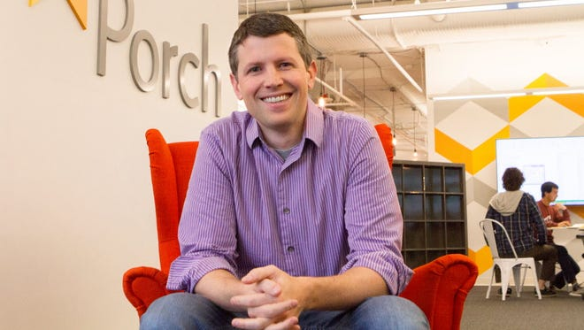 Porch CEO Matt Ehrlichman, photographed at the company's Seattle headquarters.
