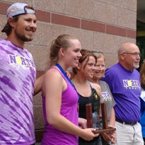 North Kitsap's Wallis completes tennis four-peat