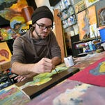 Midtown hosts two artist showcases annually, one in May and another during the holidays.