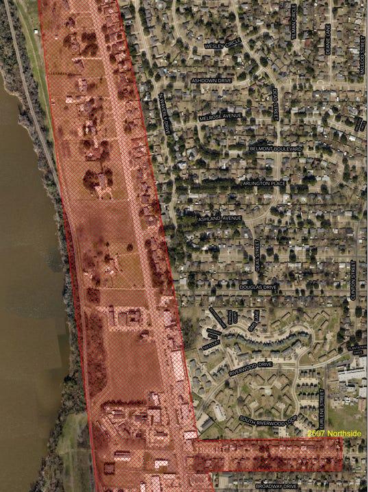 MAP: Benton Road boil advisory Aug. 14, 2014