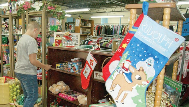 GraceWorks West in Fairview offers local families in need help with the demands of the holiday season.