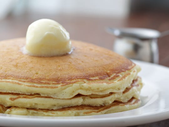 The griddle cakes from Matt's Big Breakfast
