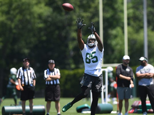 Jets minicamp at Atlantic Health Training Center on