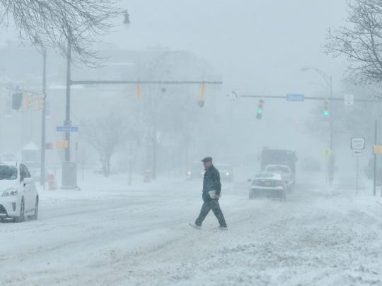 Blowing winds make for blizzard-like whiteouts on East