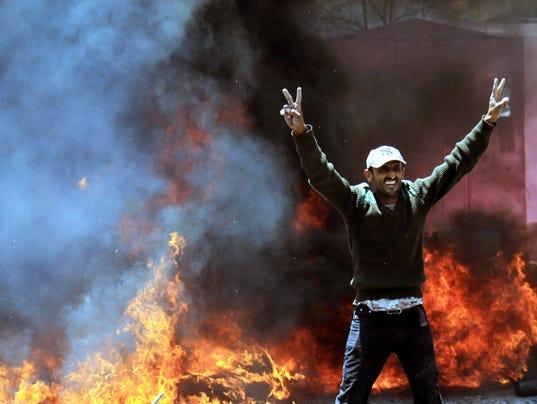EPA YEMEN ANTI HOUTHIS PROTEST POL CITIZENS INITIATIVE & RECALL YEM