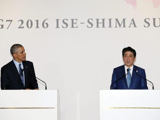 EPA JAPAN G7 SUMMIT PREVIEW POL TREATIES & ORGANIZATIONS JPN MI
